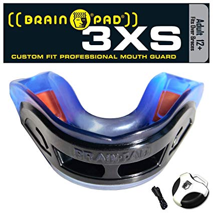 Brain Pad Mouth Guards - 3XS Pro - Youth & Adult