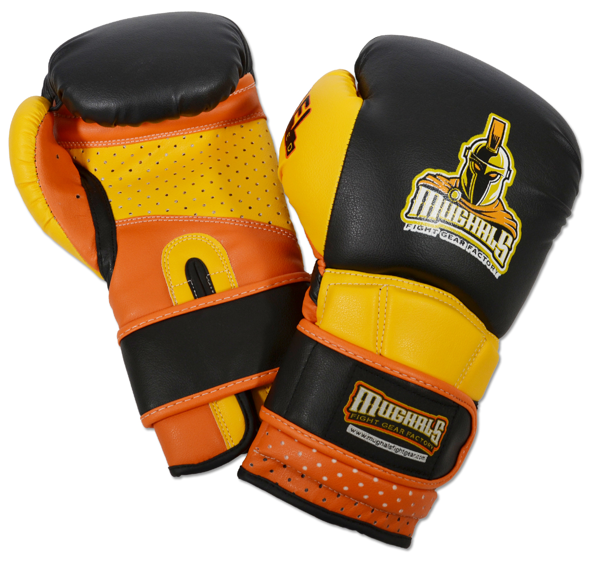 Molded-Foam and Gel-Lined Training Boxing Gloves