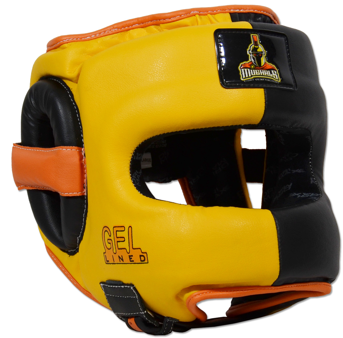 Deluxe Full Face GelLined Sparring Headgear