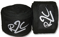R2C Handwraps Cotton-Black 180
