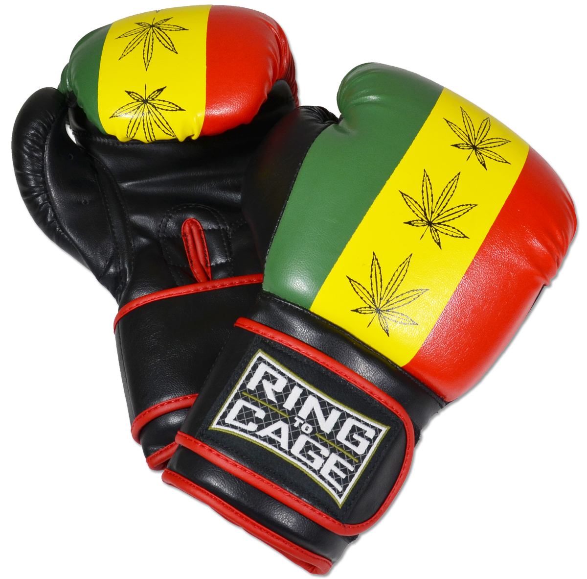 Gym Training Gloves - Rastafarian