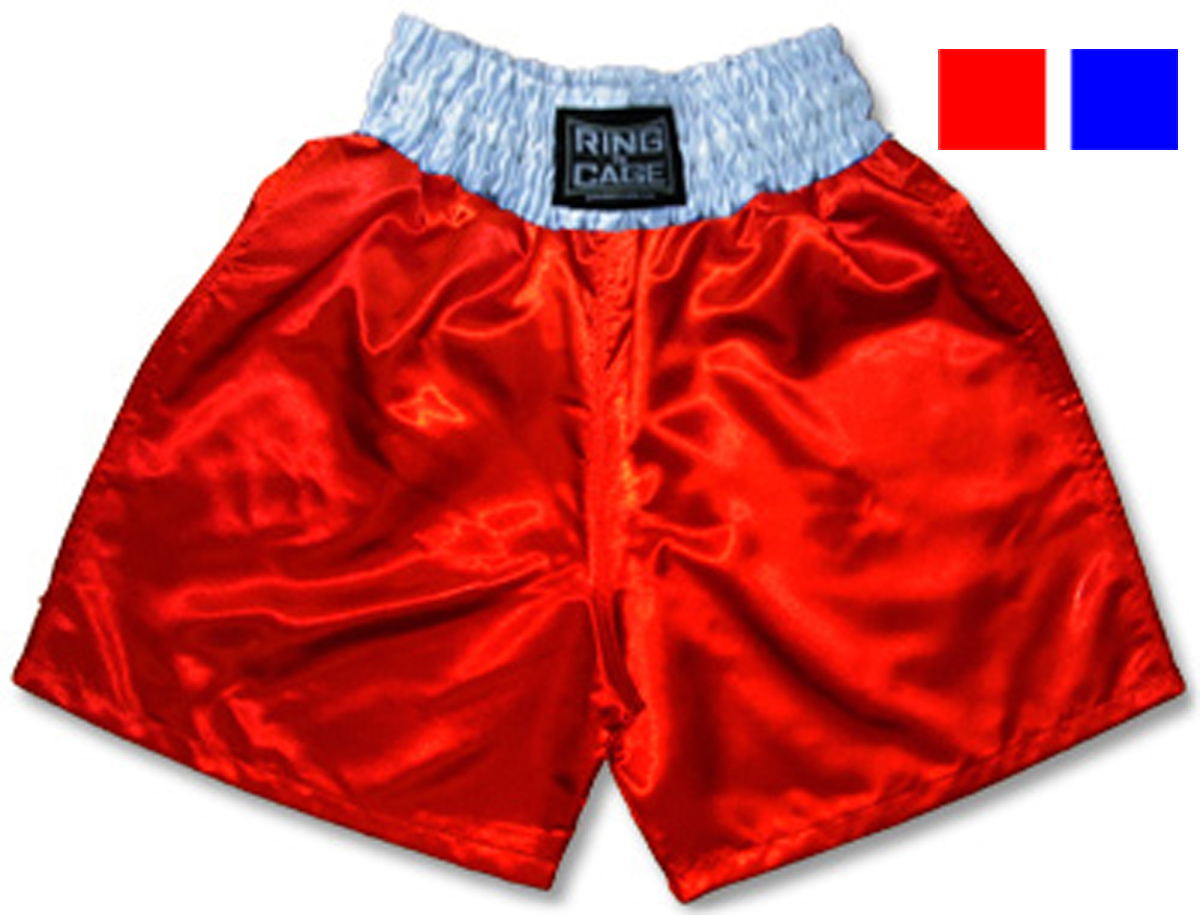 Adult Boxing Shorts - Blue or Red