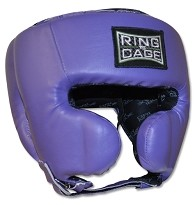 Womens Deluxe Sparring Headgear - Purple
