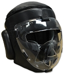 Safety Sheild Training Headgear, with removeable plexiglass Mask