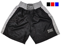 Kids Boxing Shorts - Black, Red, Blue
