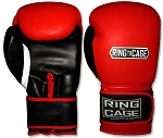 Gym Training Gloves - Red/Black