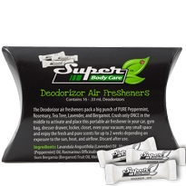 Gym Bag Deodorizer Air Freshener 16-Pack