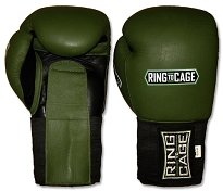 Deluxe MiM-Foam Sparring Gloves - Velcro/Elastic Cuff