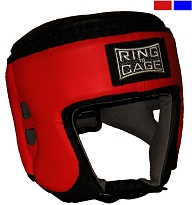 Muay Thai Competition Headgear - Red, Blue