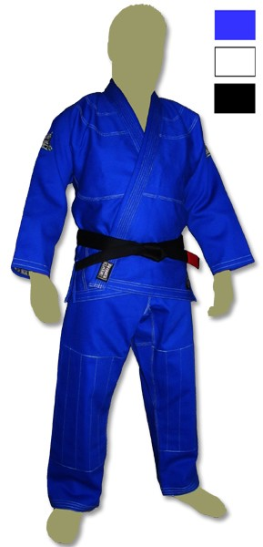 Elite Brazilian Jiu Jitsu Kimonos - White, Blue, Black