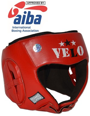 AIBA Approved Amateur Boxing Competition Headgear - Blue or Red
